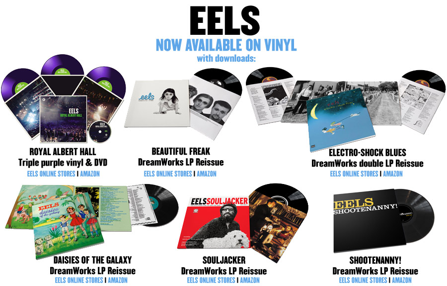 EELS: NOW AVAILABLE ON VINYL!